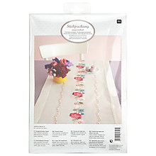 Buy Rico Flower Tendril Table Runner Embroidery Kit Online at johnlewis.com