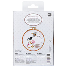 Buy Rico Garden Bee Embroidery Kit Online at johnlewis.com