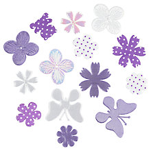 Buy John Lewis Fabric Topper Mix, Pack of 14, Multi Online at johnlewis.com