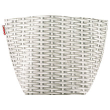 Buy Cath Kidston Cranham Storage Basket, White Online at johnlewis.com