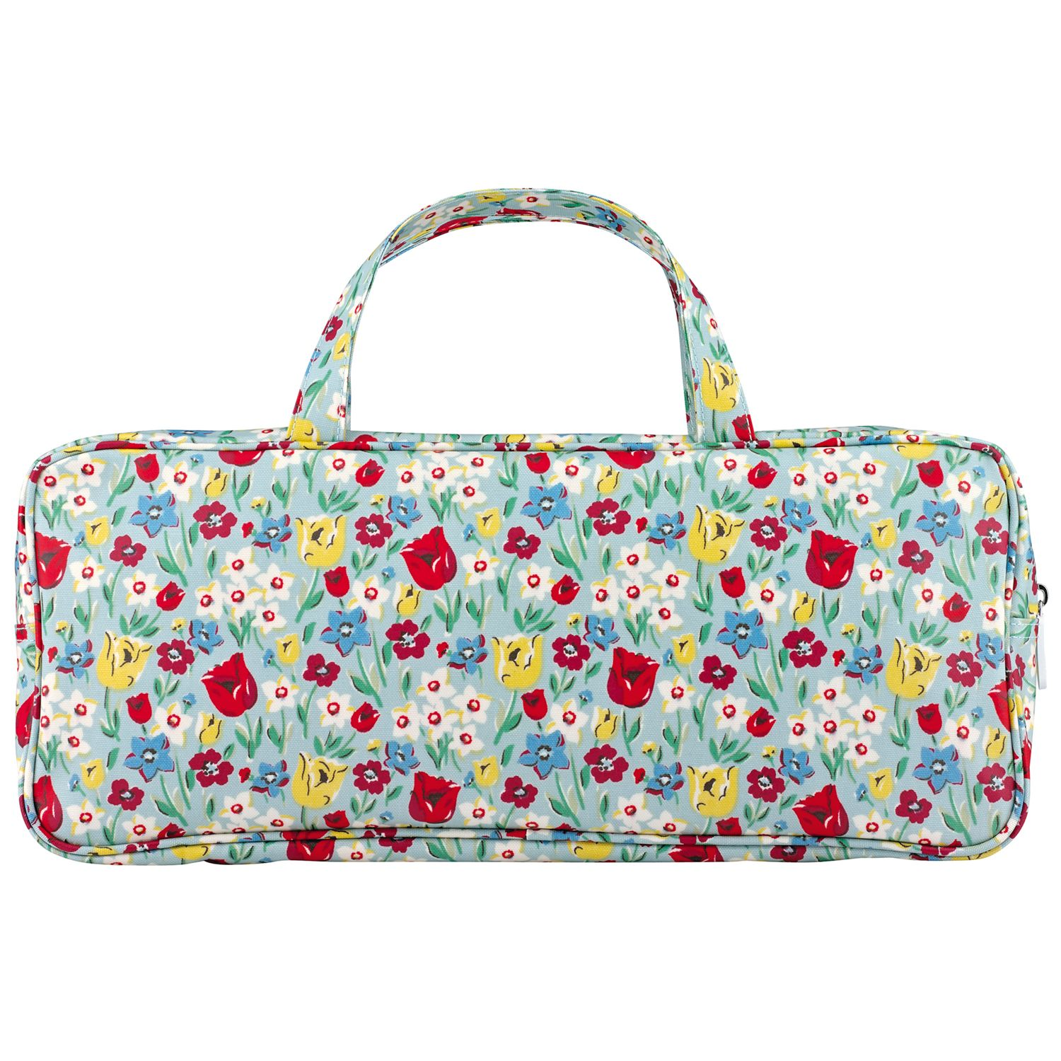 Buy Cath Kidston Paradise Fields Knit Bag, Sage Online at johnlewis.com