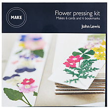 Buy John Lewis Flower Pressing Kit Online at johnlewis.com