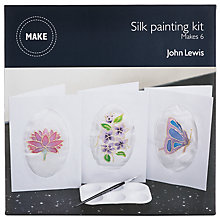 Buy John Lewis Silk Painting Craft Kit Online at johnlewis.com