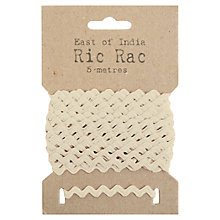Buy East of India Ric Rac, 5m Online at johnlewis.com