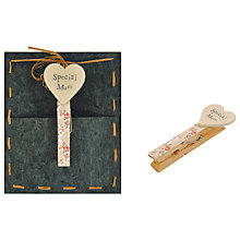 Buy East of India 'Special Mum' Peg, Multi Online at johnlewis.com
