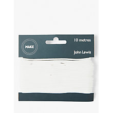 Buy John Lewis Cord 2mm, White Online at johnlewis.com