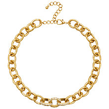 Buy Adele Marie Chunky Diamante Chain Necklace Online at johnlewis.com