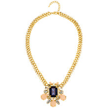 Buy Adele Marie Resin Pendant Necklace, Gold Online at johnlewis.com