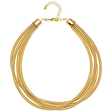 Buy Adele Marie Four Row Sprung Coil Necklace Online at johnlewis.com
