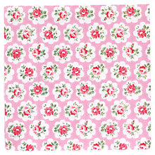 Buy Cath Kidston Rose Print Oilcloth Fabric, Pink Online at johnlewis.com
