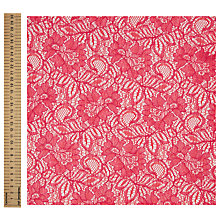 Buy John Lewis Tocca Lace Fabric Online at johnlewis.com