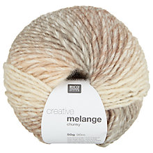 Buy Rico Creative Melange Chunky Yarn, 50g Online at johnlewis.com