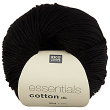 Buy Rico Essentials Cotton DK Yarn, 50g Online at johnlewis.com