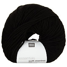 Buy Rico Essentials Soft Merino Aran Yarn, 50g Online at johnlewis.com