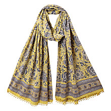 Buy East Anokhi Arya Mini Scarf, Darkdove Online at johnlewis.com