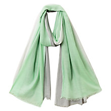 Buy East Soft Ombre Plain Scarf, Mint Online at johnlewis.com