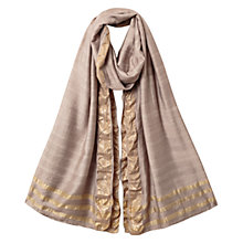 Buy East Soft Ombre Plain Scarf, Stone Online at johnlewis.com