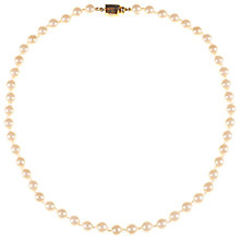 Buy Alice Joseph Vintage Monet Faux Pearl Necklace, Pearl Online at johnlewis.com