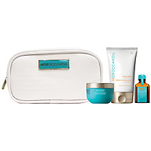 Buy Moroccanoil Travel Luxuries Moisture Set Online at johnlewis.com