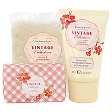 Buy Heathcote & Ivory Vintage Mimosa & Pomegrante Hand & Bath Beauty Box Online at johnlewis.com
