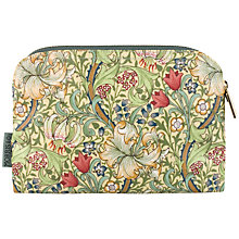 Buy Heathcote & Ivory Morris & Co Golden Lily Small Cosmetics Bag Online at johnlewis.com