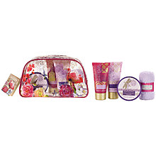 Buy Heathcote & Ivory Secret Paradise Holiday Travel Treats in a Wash Bag Online at johnlewis.com