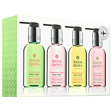 Buy Molton Brown Bestsellers Travel Hand Wash set, 4 x 100g Online at johnlewis.com