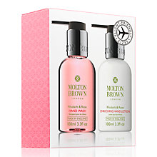 Buy Molton Brown Mini Rhubarb & Rose Duo, 2 x 100ml Online at johnlewis.com