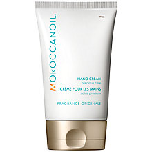 Buy Moroccanoil Hand Cream, Fragrance Originale, 125ml Online at johnlewis.com