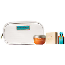 Buy Moroccanoil Travel Luxuries Cleanse Set Online at johnlewis.com