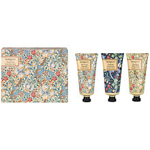 Buy Heathcote & Ivory Morris & Co Golden Lily Travel Trio, 3 x 50ml Online at johnlewis.com