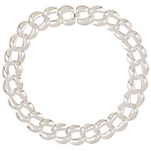 Buy Susan Caplan for John Lewis 1980s Silver Plated Chunky Necklace, Silver Online at johnlewis.com
