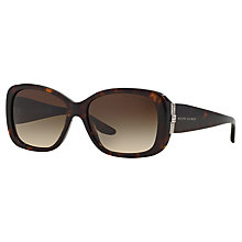 Buy Ralph Lauren RL8127B Retangular Sunglasses, Dark Havana Online at johnlewis.com