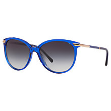 Buy Burberry BE4186 Round Sunglasses Online at johnlewis.com