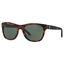 Buy Polo Ralph Lauren PH4091 Square Sunglasses Online at johnlewis.com
