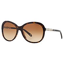 Buy Tiffany & Co TF4104HB Butterfly Polarised Sunglasses Online at johnlewis.com