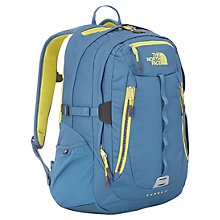 Buy The North Face Surge 2 Backpack, Blue/Yellow Online at johnlewis.com