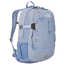 Buy The North Face Borealis Backpack, Light Blue Online at johnlewis.com