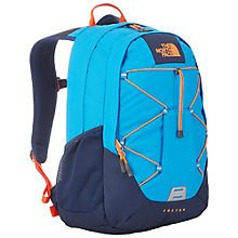 Buy The North Face Jester Backpack, Blue/Orange Online at johnlewis.com