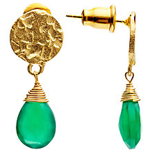 Buy Azuni Semi-Precious Stone Drop Earrings Online at johnlewis.com