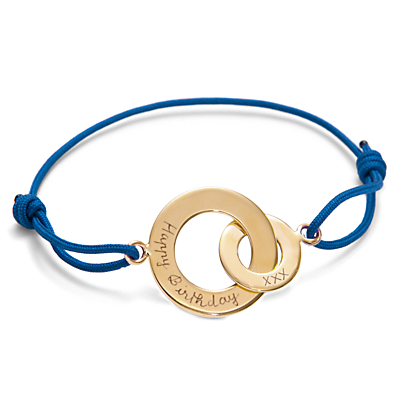 Message by Merci Maman Happy Birthday Bracelet