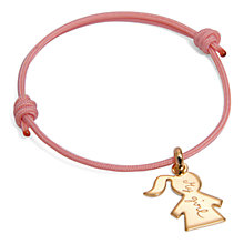 Buy Message by Merci Maman It's A Girl Bracelet Online at johnlewis.com