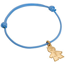 Buy Message by Merci Maman It's A Boy Bracelet Online at johnlewis.com