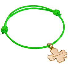 Buy Message by Merci Maman Good Luck Bracelet Online at johnlewis.com