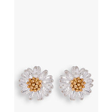 Buy Estella Bartlett Mini Wildflower Silver Plated Earrings, Silver Online at johnlewis.com