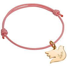 Buy Message by Merci Maman With All My Love Bracelet Online at johnlewis.com