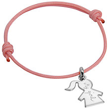 Buy Message by Merci Maman My Girl Bracelet Online at johnlewis.com