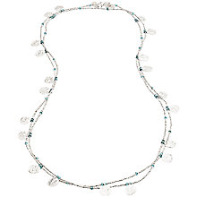 Buy Azuni Long Coin Necklace Online at johnlewis.com
