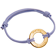 Buy Message by Merci Maman Precious Mum Bracelet Online at johnlewis.com