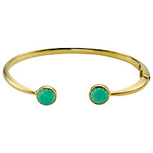 Buy John Lewis Gemstones Hinged Bangle Online at johnlewis.com